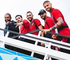 Сборная Марокко улетела из Воронежа на первый матч в Питер