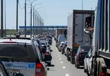 Воронежскую трассу М4 около Лосево парализовала 30-километровая пробка из-за ДТП