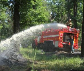 Из-за повышенного риска пожаров в детских лагерях дежурят спасатели