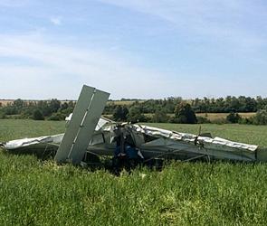 СКР изучает разные версии крушения самолета и гибели пилота под Воронежем (фото)