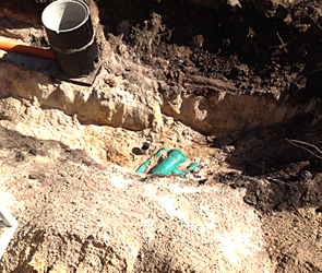 В Воронеже в парке тяжелая авиабомба сутки лежала на земле до приезда МЧС - фото