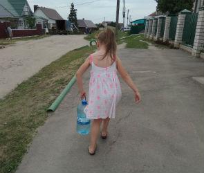 Жителям села под Воронежем обещают восстановить водоснабжение в ближайшее время