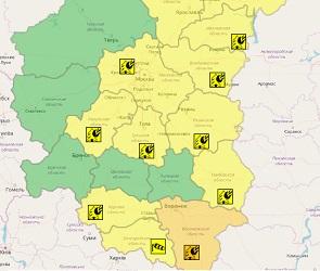 Воронежцев предупредили о грозе, ветре и вероятности стихийных бедствий