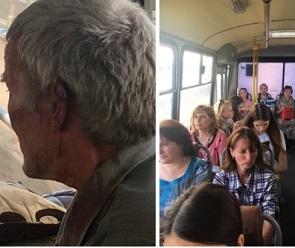 В центре Воронежа неадекват жестоко избил пенсионера в маршрутке