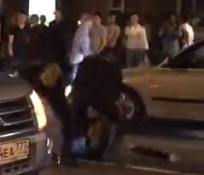 В МВД прокомментировали жестокое избиение фаната дубинками в центре Воронежа