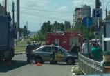Очевидцы: в Воронеже таксист умер за рулем машины