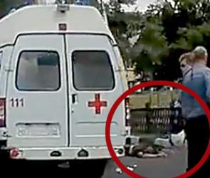 Воронежцы сообщают подробности аварии с погибшим мотоциклистом (фото, видео)