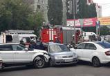 В Воронеже водитель Форда устроил массовое ДТП с пострадавшими (фото)