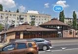 На видео попало, как в пятницу 13-го в Воронеже загорелось кафе