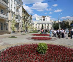 Сквер у Воронежского госуниверситета планируют открыть в День города