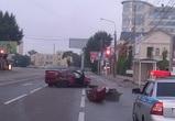 Опубликованы фото, видео и подробности страшного ночного ДТП в центре Воронежа