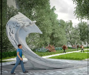 В Воронеже появится новый сквер с необычным памятным знаком