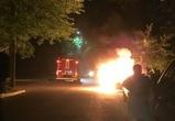 Залитое 3,5 месяца назад монтажной пеной авто сгорело ночью в Воронеже
