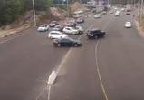 Массовое нарушение ПДД при ДПС на новой развязке в Воронеже сняли на видео