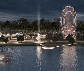 В парке «Дельфин» появится колесо обозрения высотой с 21-этажный дом