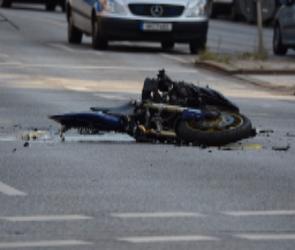 В Воронеже во время ДТП пострадал мотоциклист - он находится в больнице