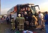 Известны подробности жуткого ДТП с КамАЗом и автобусом на воронежской трассе