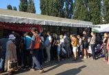 Воронежцы выстроились в гигантскую очередь за бесплатной шаурмой