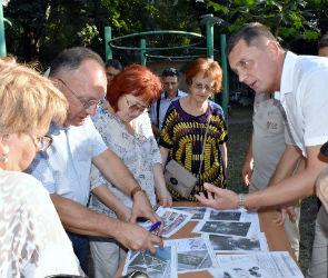 Воронежцам показали, как будет выглядеть обновленный сквер «Луч»