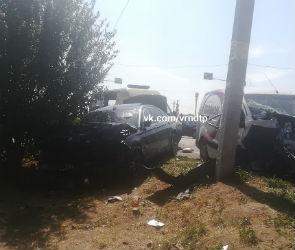 Опубликованы фото страшной аварии с погибшим под Воронежем