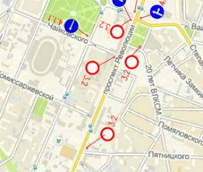 В среду в час пик в Воронеже перекроют проспект Революции