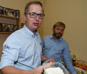 Голландский фермер в Воронеже: «Люблю вашу ряженку и глазированные сырки»