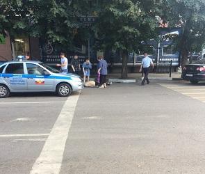 В центре Воронежа мужчина погиб, упав с пятого этажа