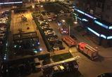 В Воронеже загорелась квартира на 25 этаже элитного ЖК