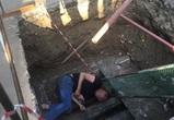 Воронежец проигнорировал ограждения и упал в котлован