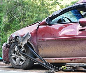 На трассе М-4  под Воронежем погиб молодой водитель, перевернувшись в иномарке