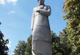 В Воронеже подрядчик заморозил установку памятника Кольцову