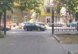 Воронежцев разозлила «барышня», которая заблокировала въезд в парк «Орленок»