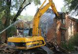 В Воронеже снесли еще один многоквартирный дом - фото