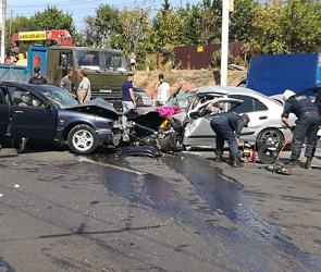 На пьяного виновника массовой аварии с шестью ранеными в Воронеже завели дело