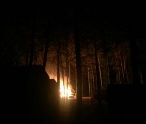 Под Воронежем загорелась вторая за неделю база отдыха
