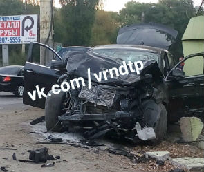 На левом берегу Воронежа произошло массовое ДТП, есть пострадавшие (ФОТО)