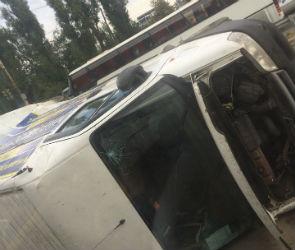 Стали известны подробности массового ДТП на левом берегу Воронежа