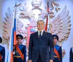 В Воронеже в День города проша инаугурация губернатора Александра Гусева (фото)