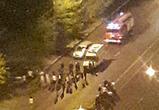 В Воронеже столкнулись Опель и мотоцикл, ранены байкер и его пассажир (фото)