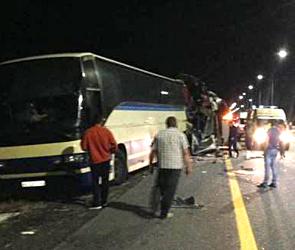 Жуткое ДТП с двумя автобусами под Воронежем: трое погибших, десятки раненых