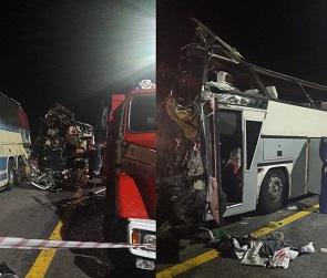 СКР начал проверку после жуткого ДТП с двумя автобусами на М-4 «Дон»