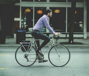 Воронежцев призывают отказаться от авто и поехать на работу на велосипеде