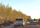 Массовая авария под Воронежем: ранены водители и двухлетний малыш (фото, видео)