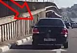 Воронежцев предупредили о водителе, разбрасывающем гвозди на Северном мосту