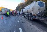 Под Воронежем в ДТП с тремя большегрузами погиб один человек