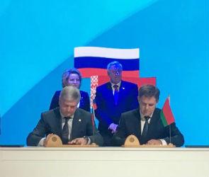 Воронежская область планирует развивать сотрудничество с Белоруссией