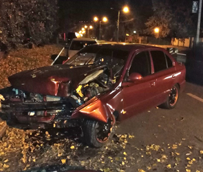 В Воронеже водитель протаранил дерево из-за приступа эпилепсии, ранен пассажир
