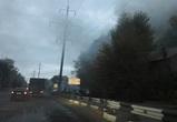 В Воронеже полыхали постройки в «квартале мойщиков», который пойдет под снос