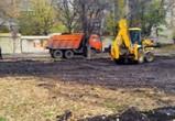 В Воронеже приступили к реконструкции сквера на улице Грамши