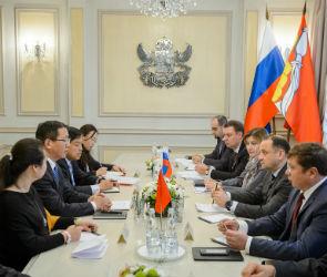 Предприятия Китая разместят на территории ОЭЗ в Воронежской области